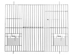 Front 50 x 30 cm verzinkt 1 deur 1 nestkastdeur en 2 klepjes