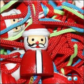 Kerst - gelukspoppetjes - hangers