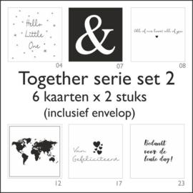 Together kaart -set 2