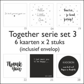 Together kaart -set 3