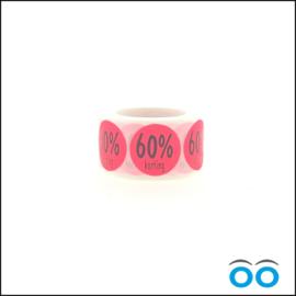 60% korting