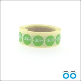 30% korting
