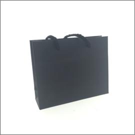 giftbag- mat zwart