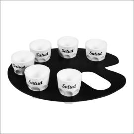 Shotglaasje - set - Salud