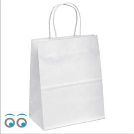 Kraft tas wit groot
