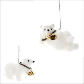 ijsbeer hanger - set van 2