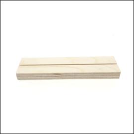 Kaart houder-blank-20 cm