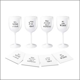 Lekker wijnen - set