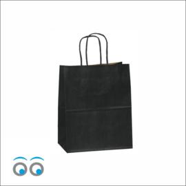 Kraft tas zwart small