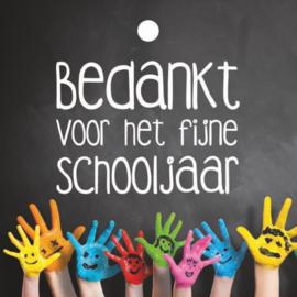 Schooljaar - handjes
