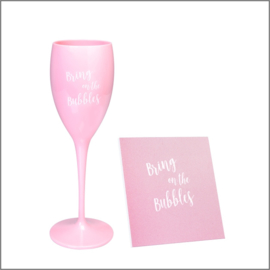 Champagne glas – bring on the bubbles
