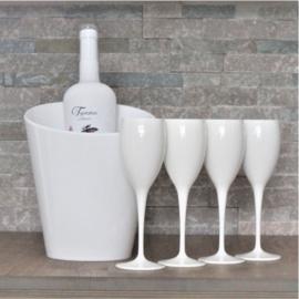 Lekker wijnen - champagne set