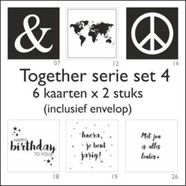 Together kaart -set 4