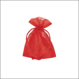 Organza zakjes - rood