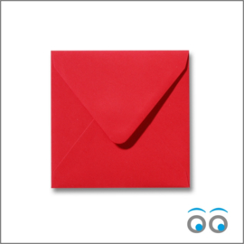 rood 14 x 14 cm