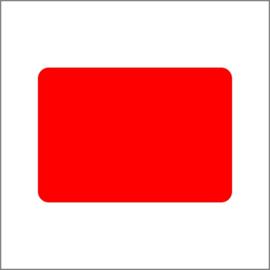 36 x 25 mm  - Oranje