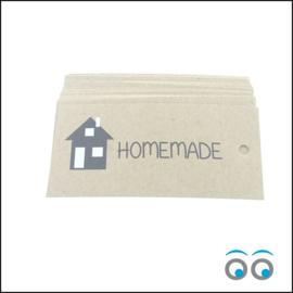 Homemade - label 50 stuks