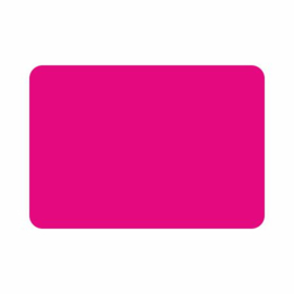 200 etiketten fluor pink