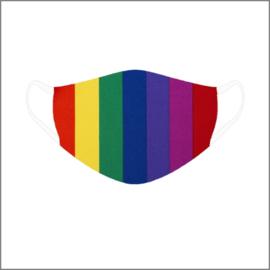 Mondkapje - regenboog