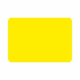200 etiketten fluor geel