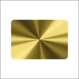36 x 25 mm  - Goud