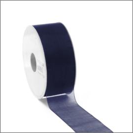 Organza lint - dark blue