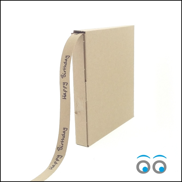 Papierband Happy Birthday