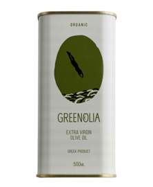 Greenolia organic 500ml tin