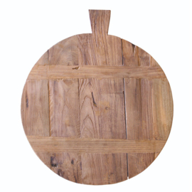 Broodplank gemaakt van reclaimed teak.