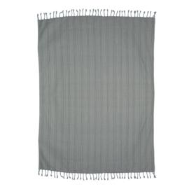 HKliving plaid grijs/blauw (130 x 170)