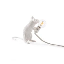 Seletti-Mouse lamp zittend