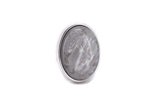 Ring Door, Grijs ovaal