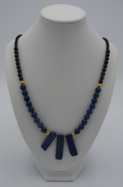 Lapis Lazuli en Agaat ± 50 cm