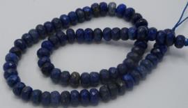 Lapis lazuli abacus 5x8mm