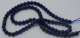 Lapis lazuli rond 4mm