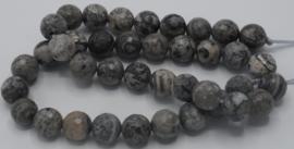 Net stone rond gefaceteerd 10mm