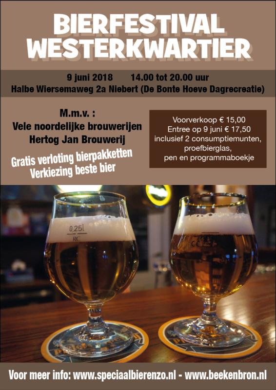 Bierfestival 9 juni 2018