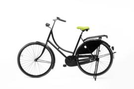 Heer Zadel Lichtgroen fietszadel