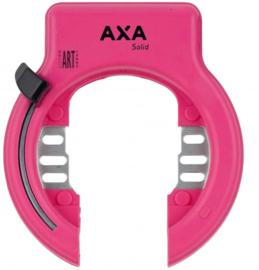 Roze Ringslot AXA Solid