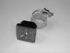 drukmeter manometer frontpaneel  DC100, DC105S, DC150SP(L)