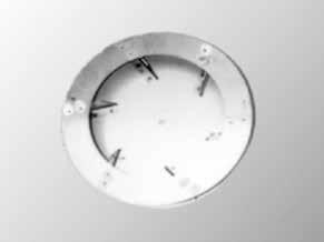 Ventilator waaier, gesloten, 175 mm / 200 mm