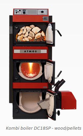 Combiketel hout/pellets GSP30
