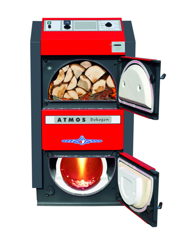 Atmos DC50GD biomassaketel