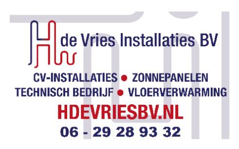 H. de Vries Installaties BV, Blauwe Stad