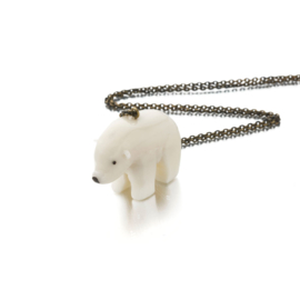 SOT Tagua Polar Bear Ketting