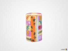 Nobunto Giftbox met 1 grote ronde stompkaars Imbali