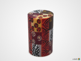 Nobunto Giftbox met 1 grote ronde stompkaars Uzima