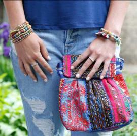 Kantha Layered Bracelet