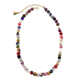 Sari Silk Classic Necklace
