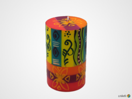 Nobunto Giftbox met 1 grote ronde stompkaars Matuko